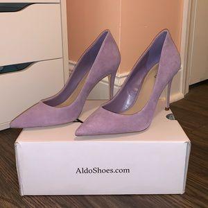 NWOT Aldo Lavender Pumps